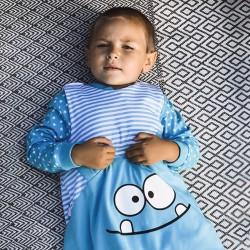 Türkiz csillagos pizsama