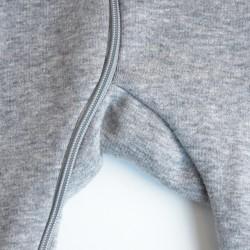 Szürke cicás pizsama