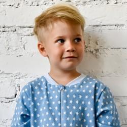 Kék csillagos pizsama