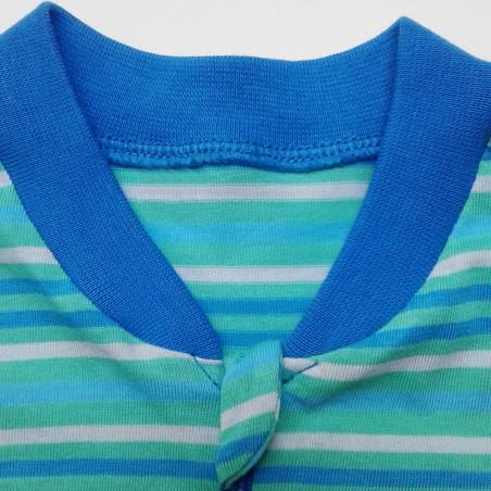 Szürke vékony pamut pizsama
